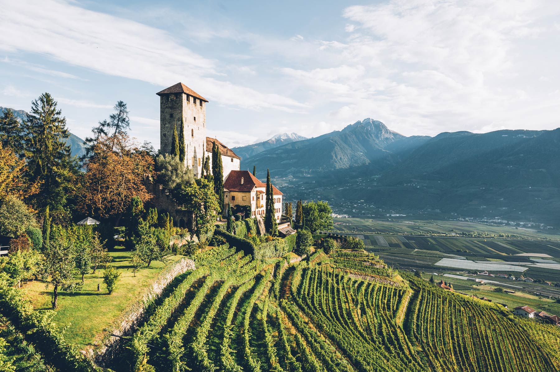 Chateau de Lebenberg, Merano, Sud Tyrol, Italie