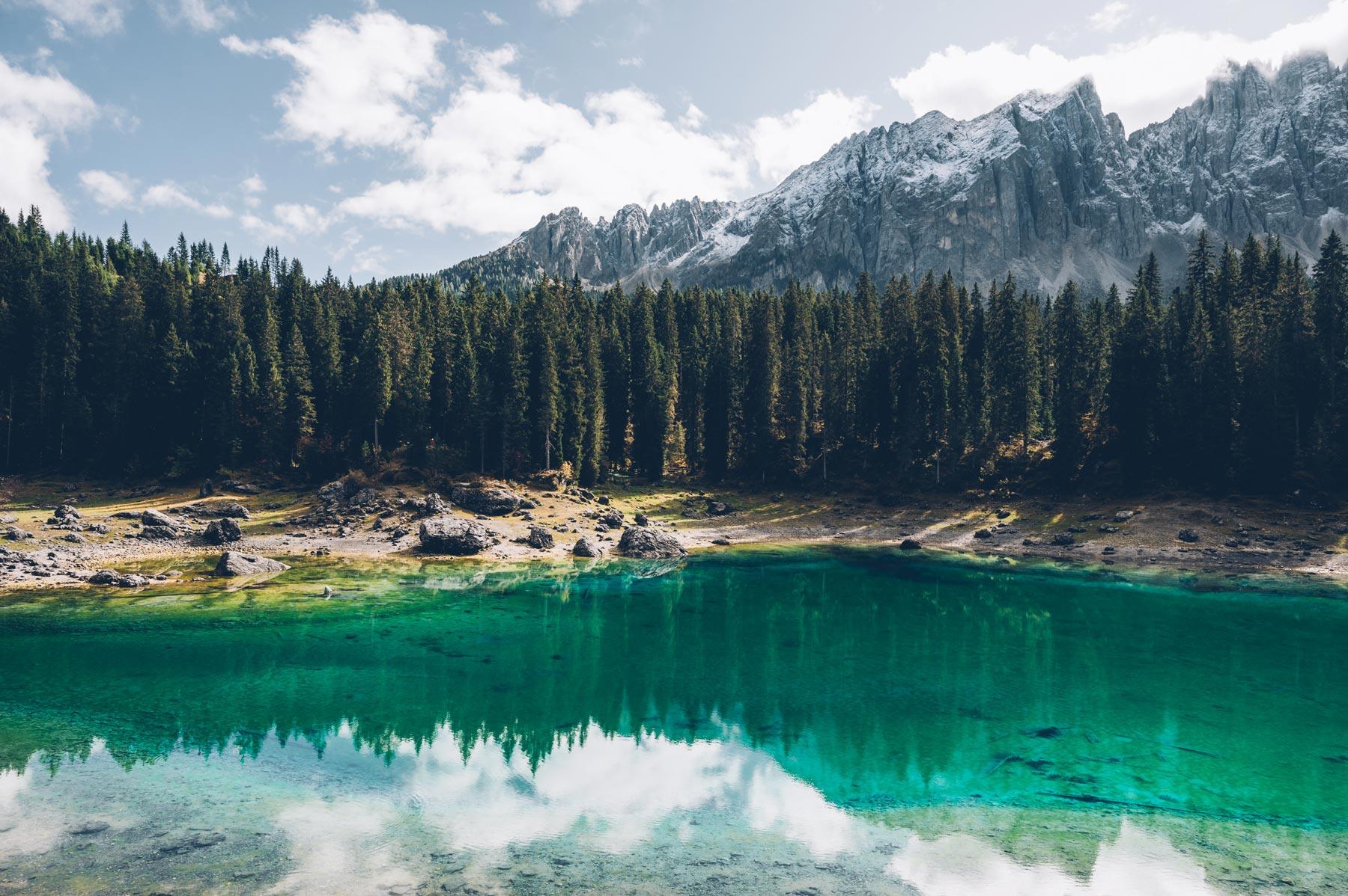 Dolomites: Lago di Carezza