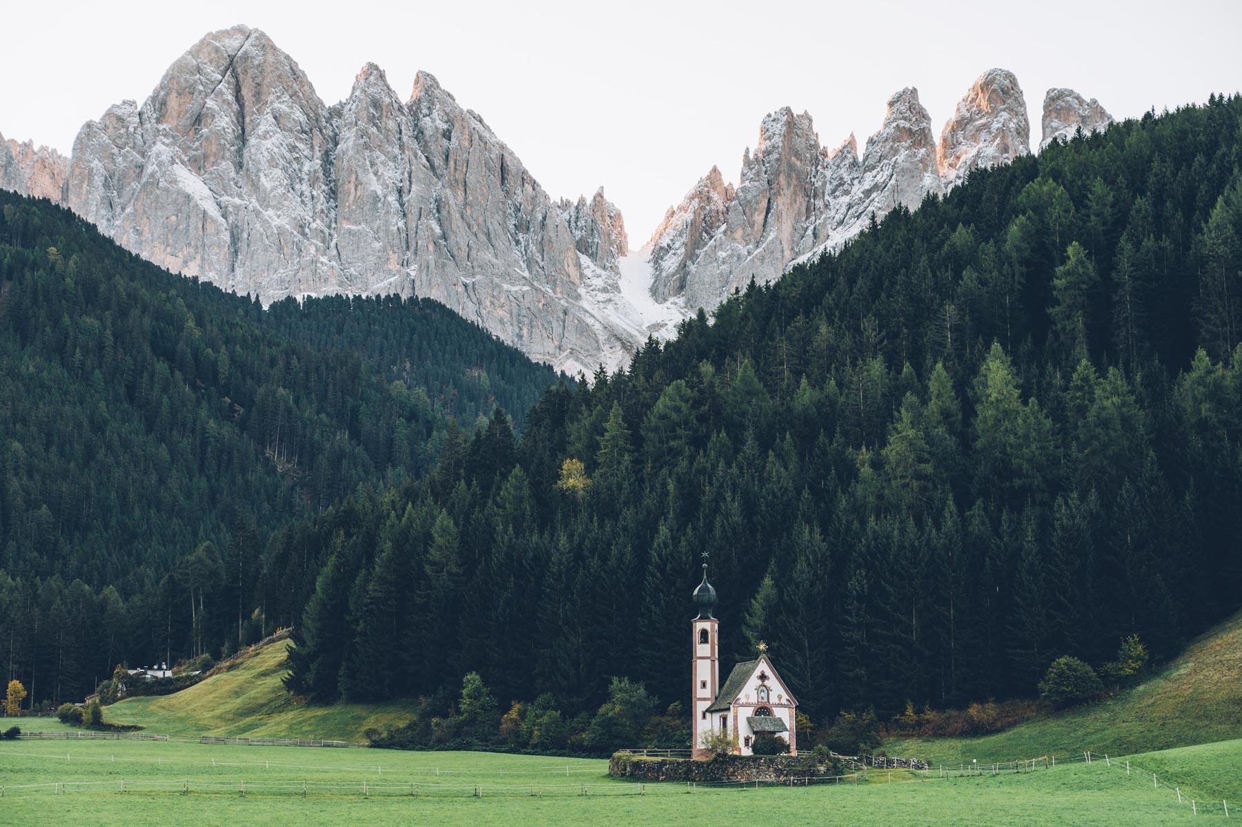 Eglise Dolomite, Santa Maddalena