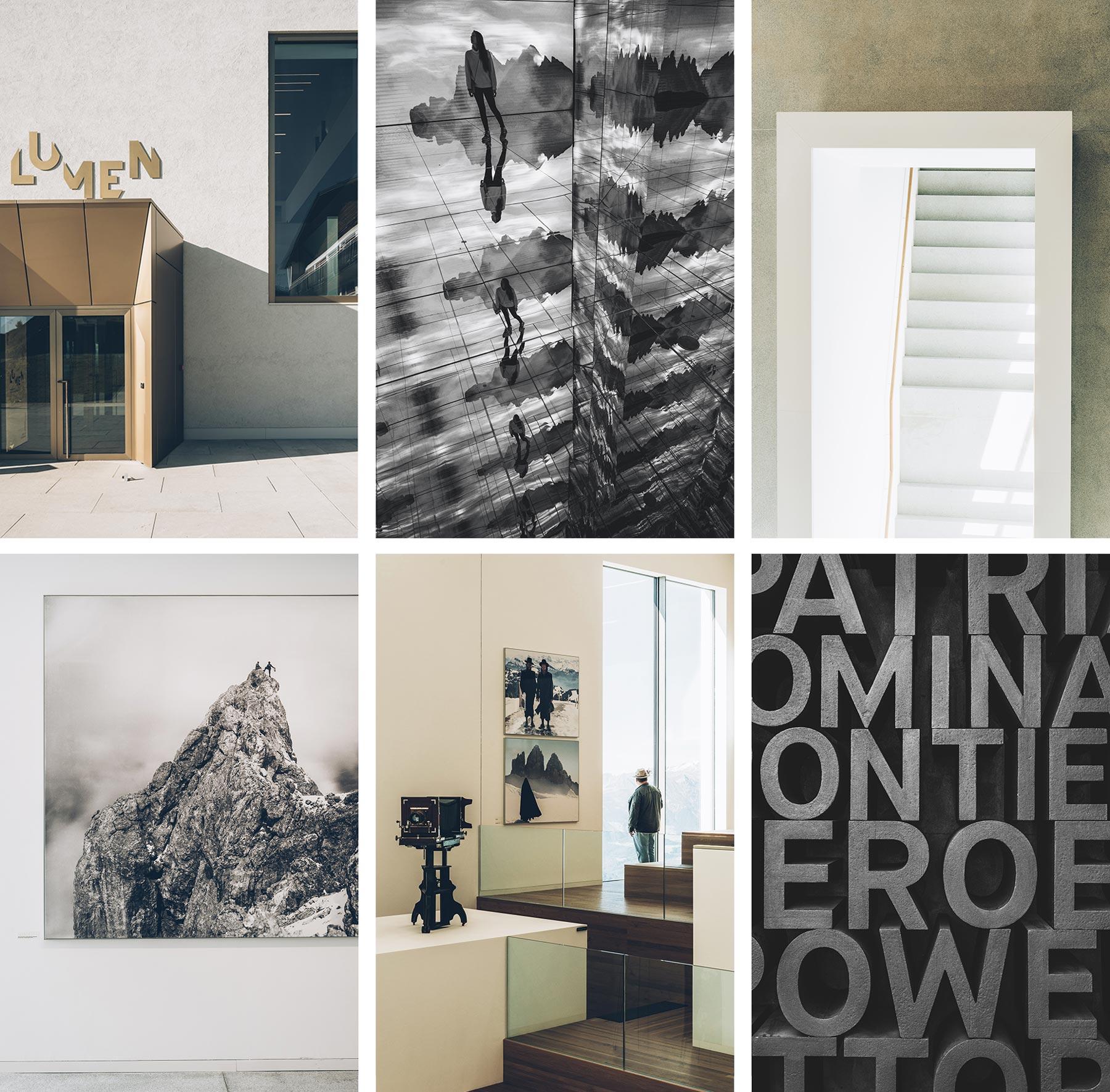 Musée de la Montagne et de la Photographie, Dolomites