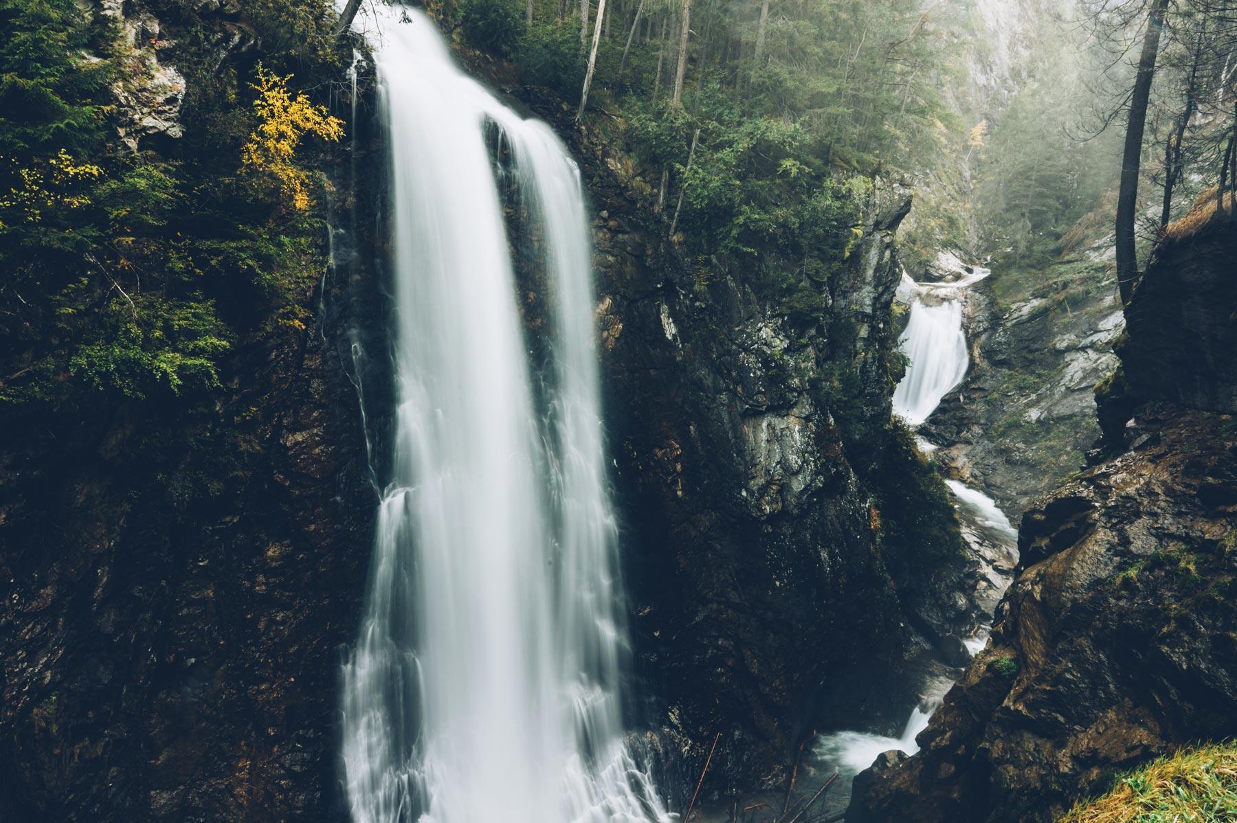 Cascades Riva, Dolomites