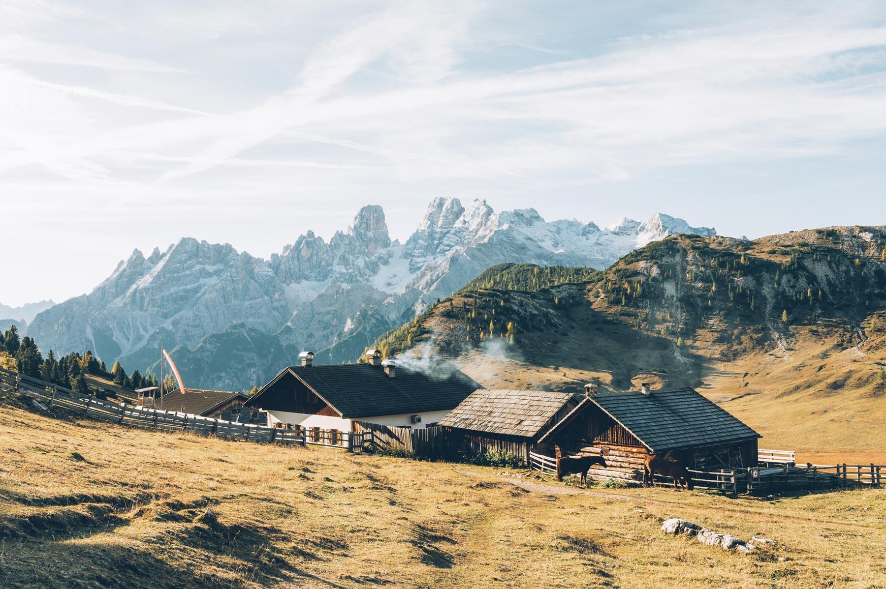 Pratto Piazza, Dolomites