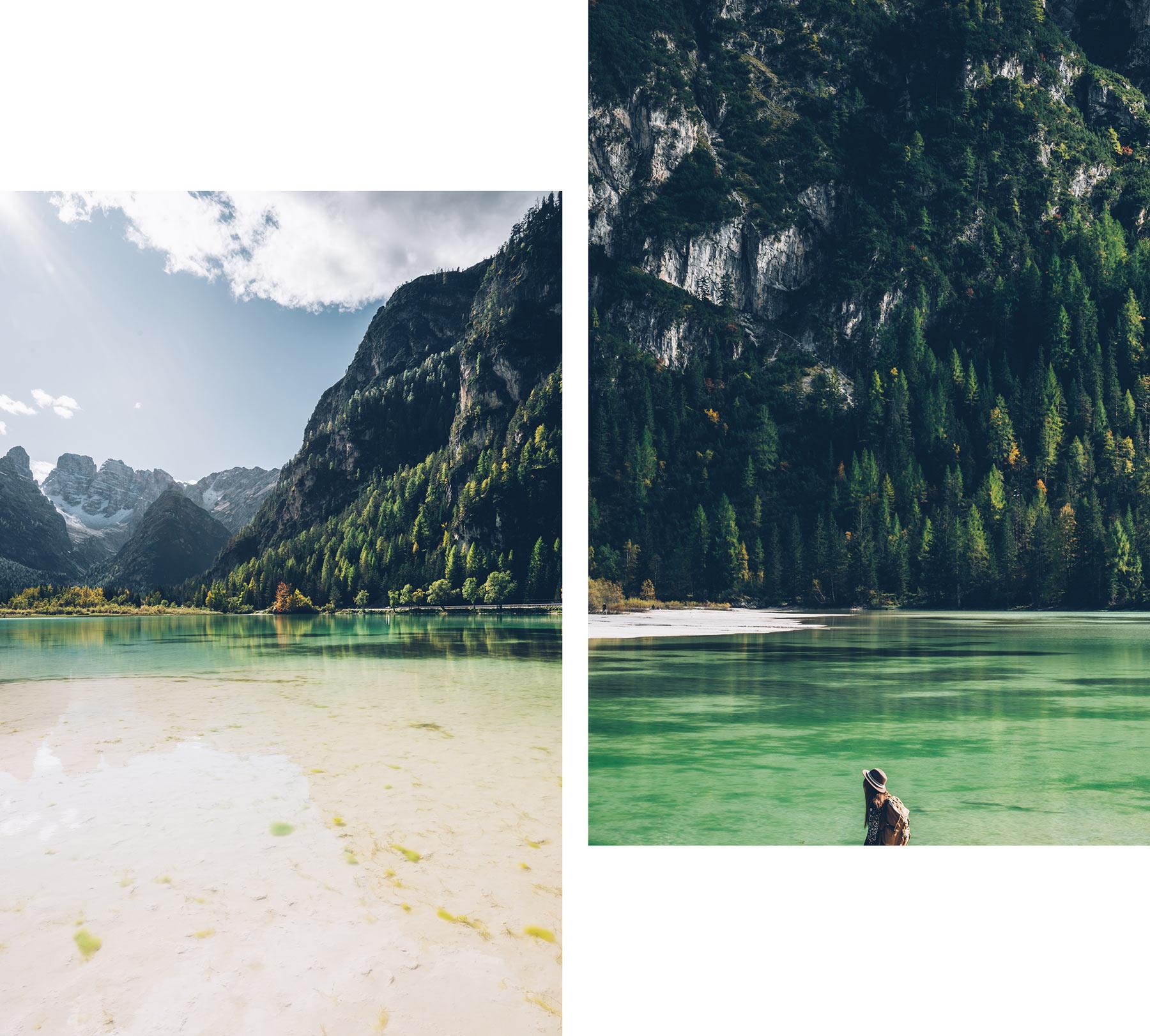 Lago di Landro, Dolomites