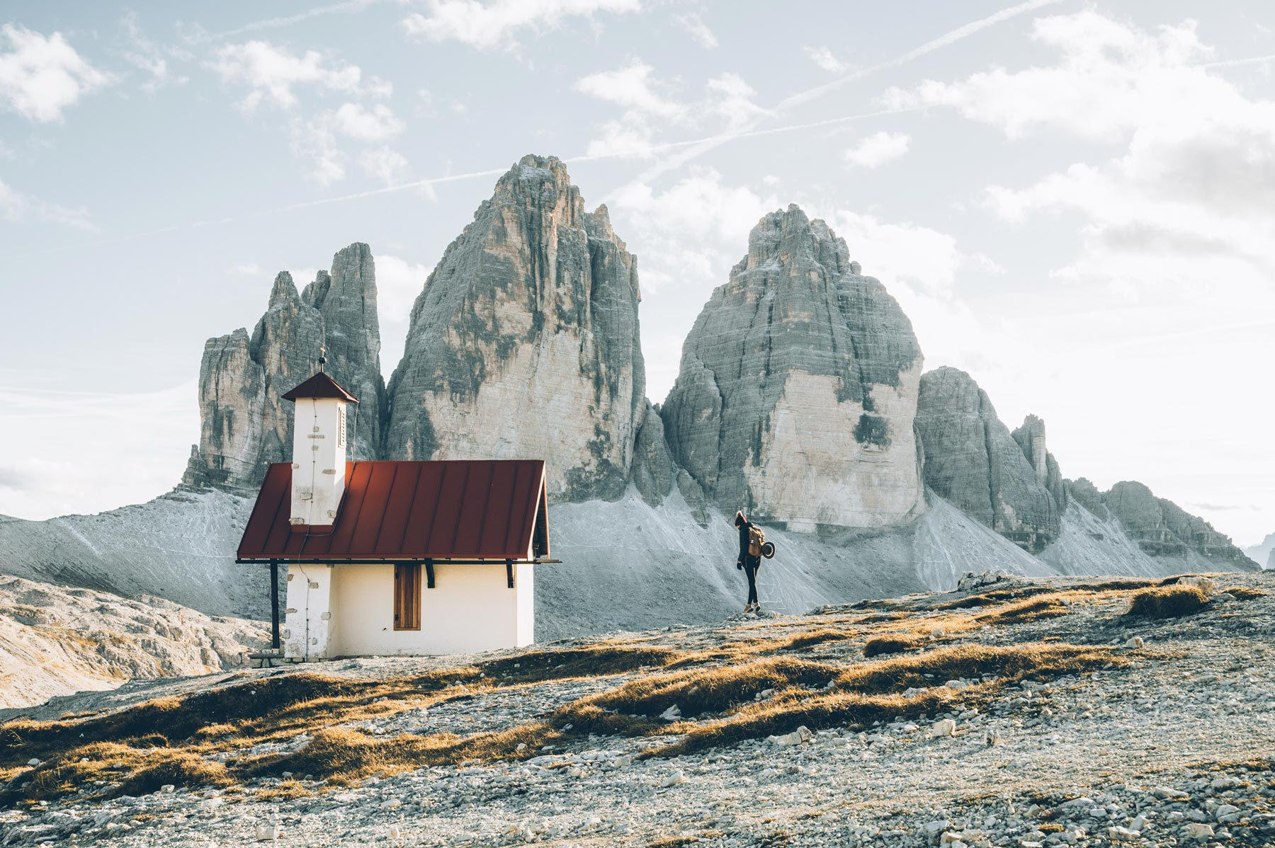 Randonnée Tre Cime di Lavaredo, Dolomites