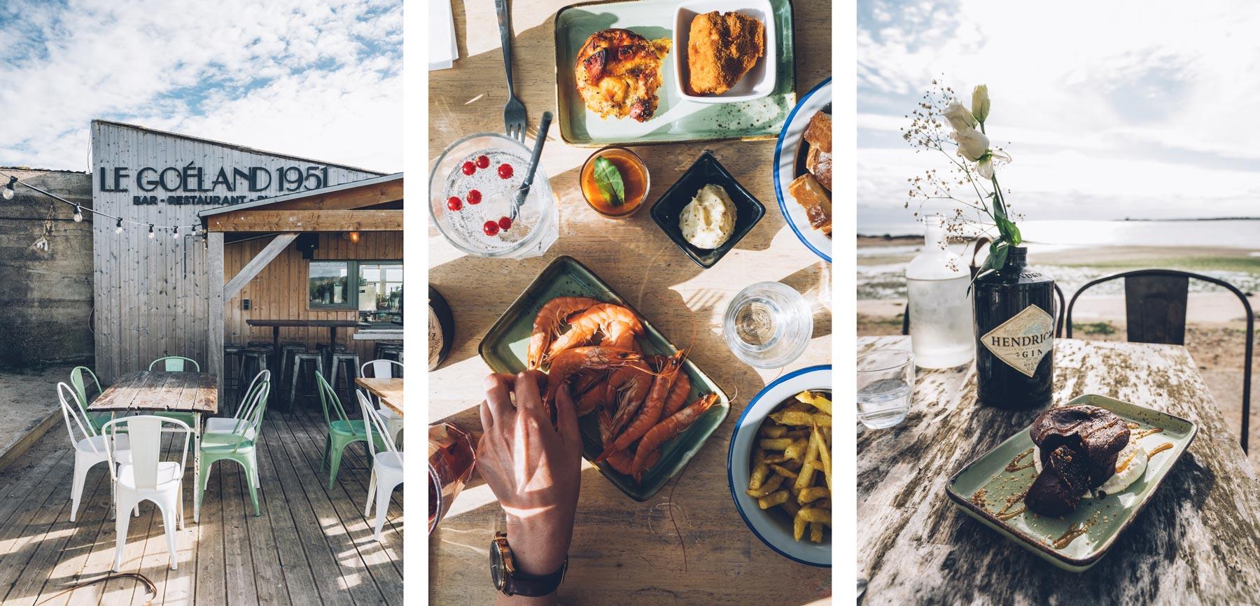 Le Goeland 1951, Restaurant de plage