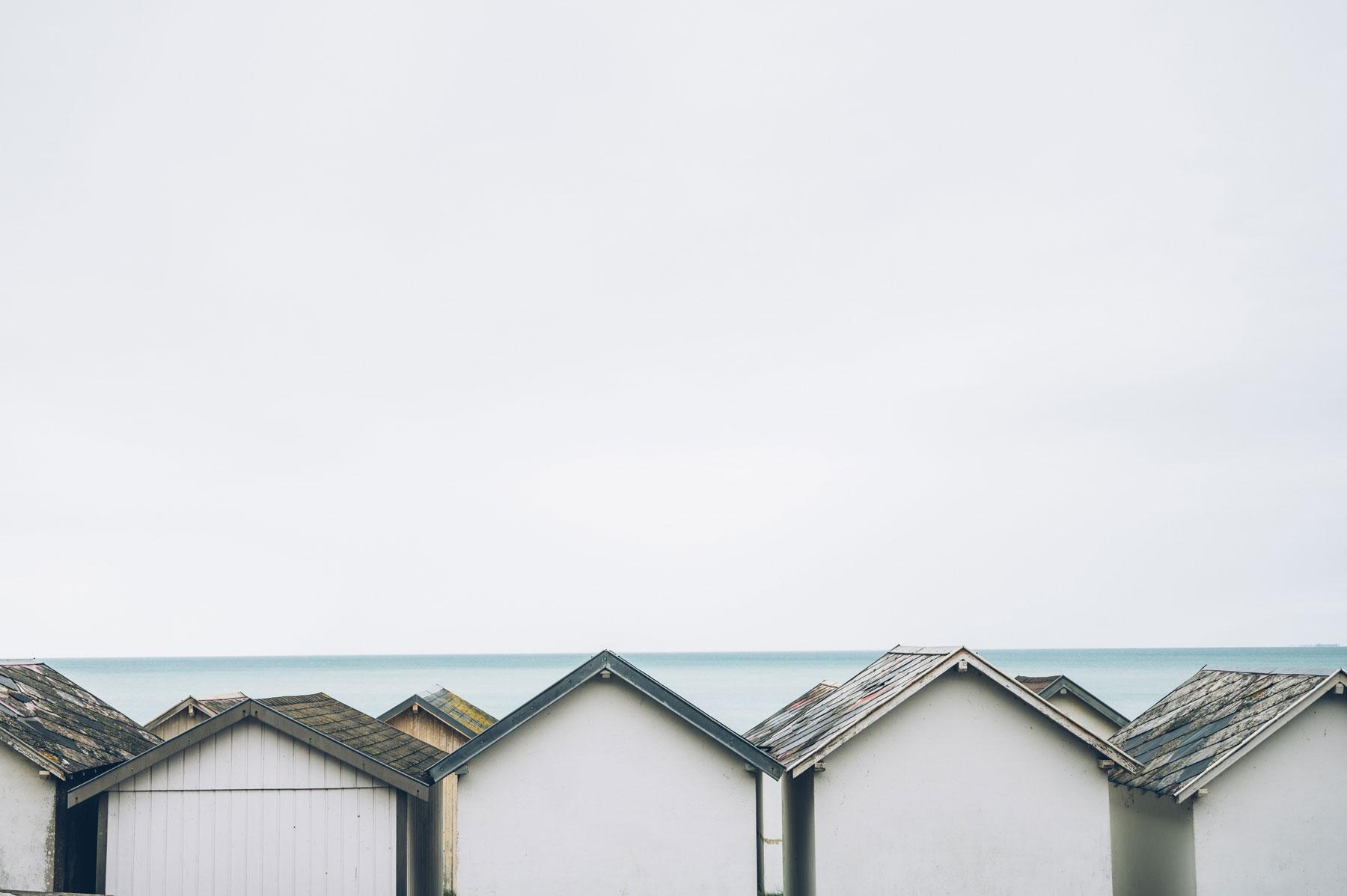 Cabines de Carolles, La Manche