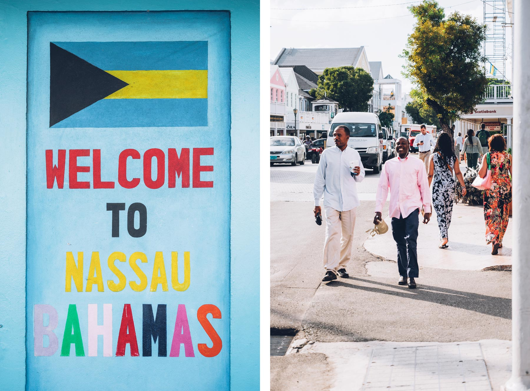 Welcome to Nassau, Bahamas
