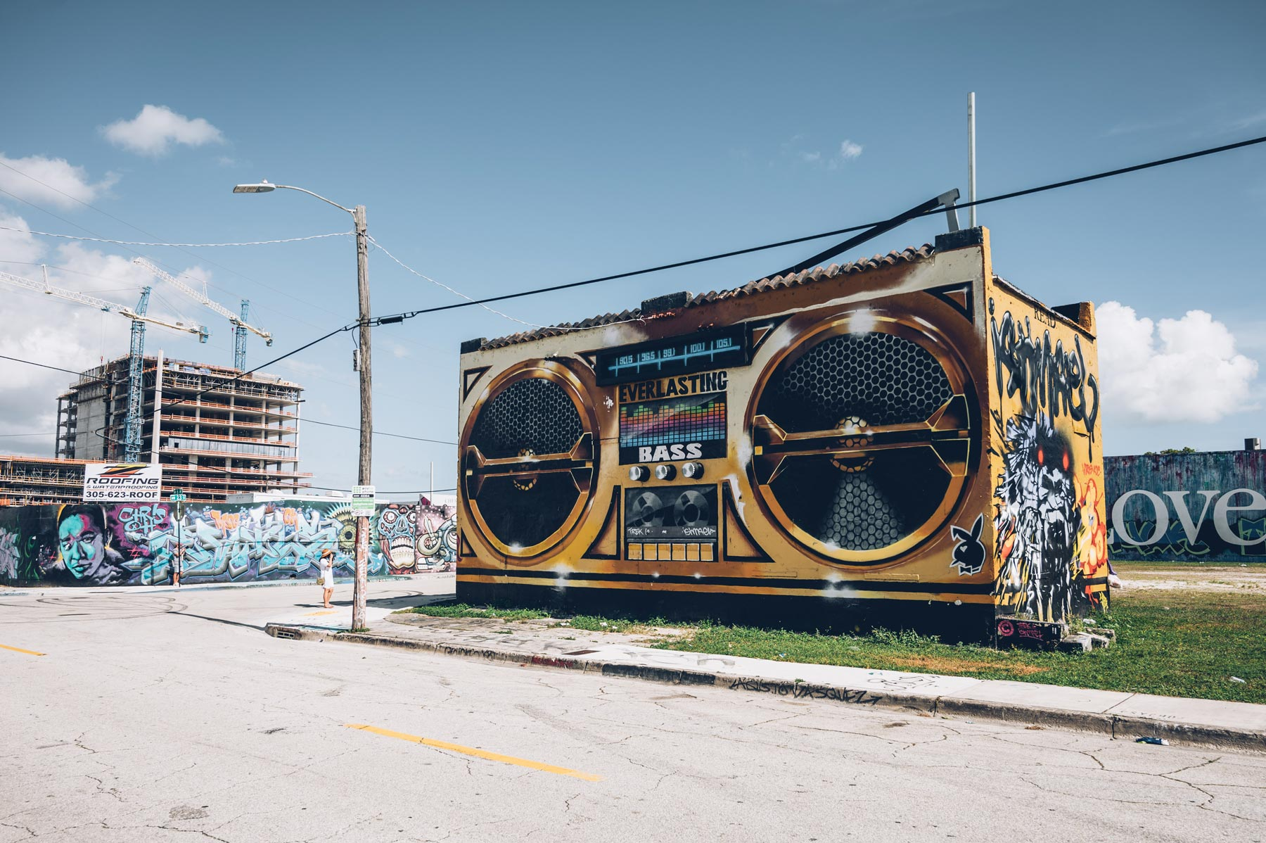 Enceinte, Street Art Miami, Wynwood