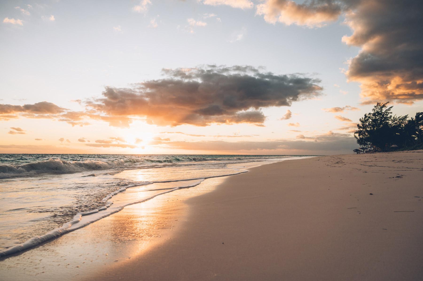 Lever de soleil aux Bahamas