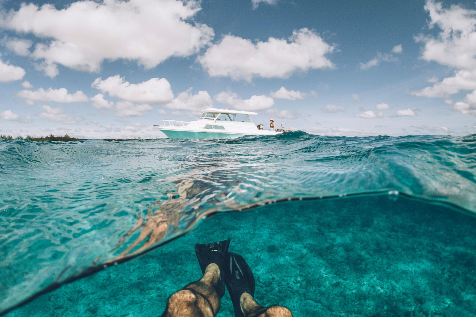 Plongée, Cat island, Bahamas