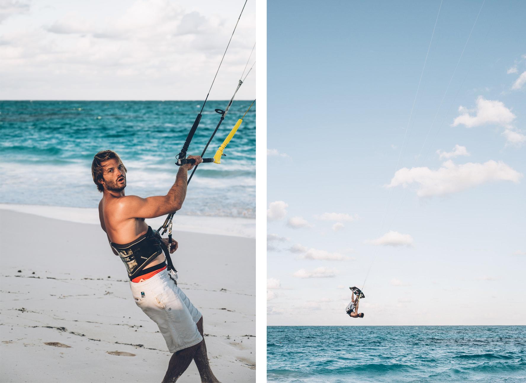 Antoine, Kite Surf, Bahamas