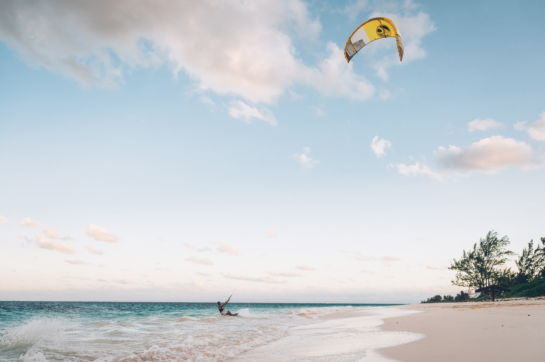 Kite Surf, Cat island, Bahamas