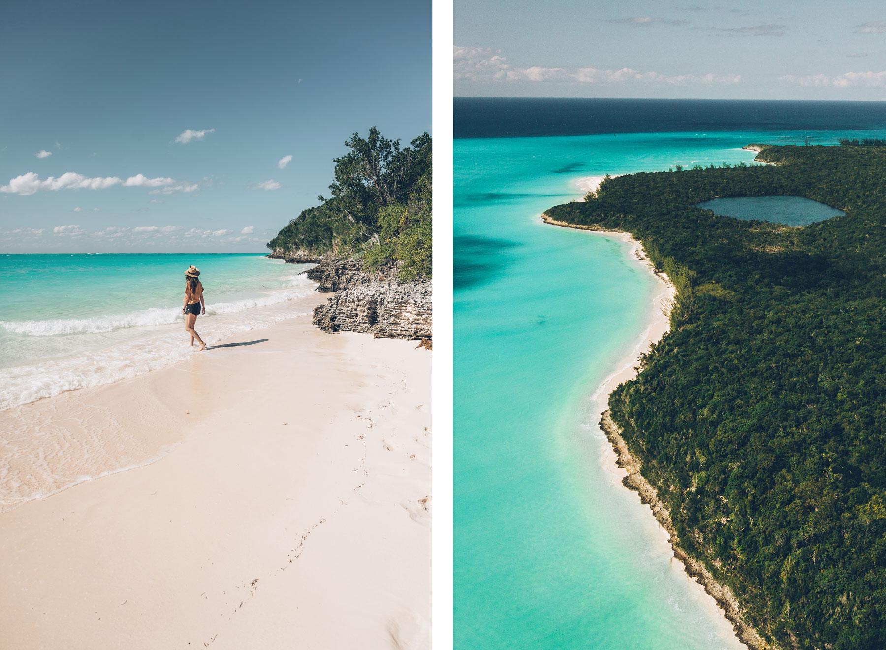 Plage Shanna's Cove, Cat Island, Bahamas