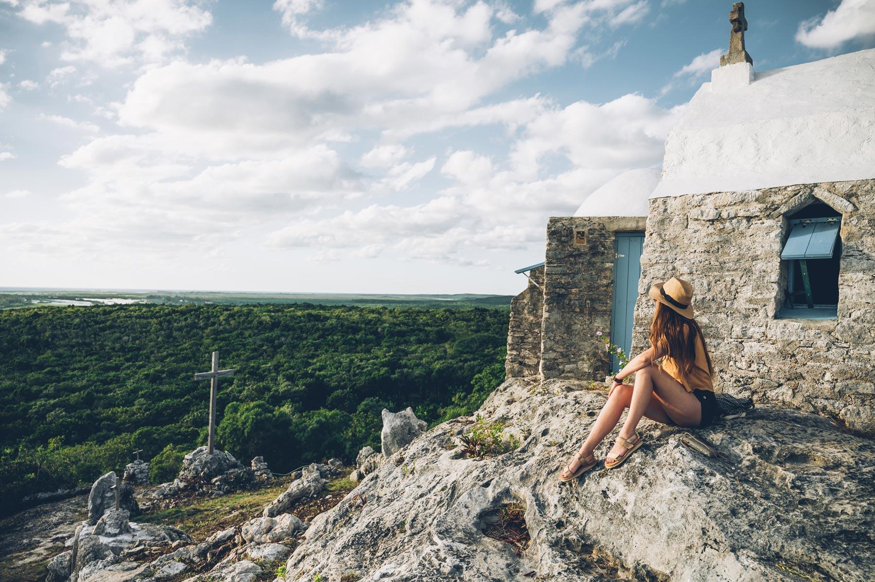 Mont Alvernia, Cat Island, Bahamas