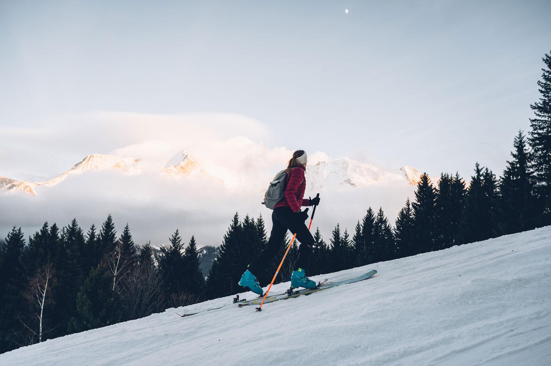 Ski de Randonnée, St Gervais