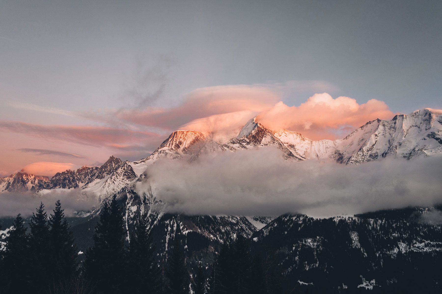 St Gervais les Bains, Mont Blanc