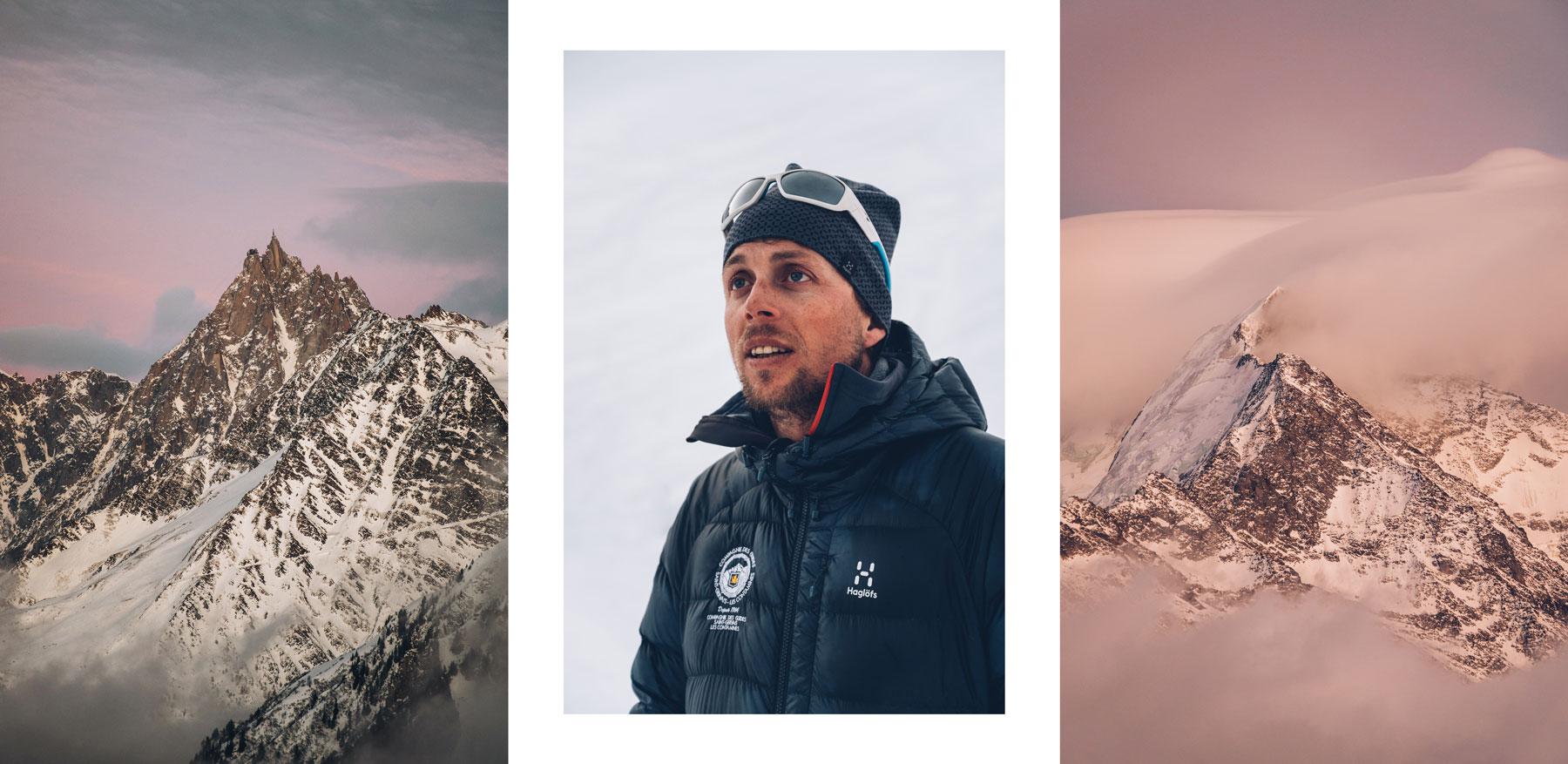 Guide Saint Gervais Mont Blanc, Julien