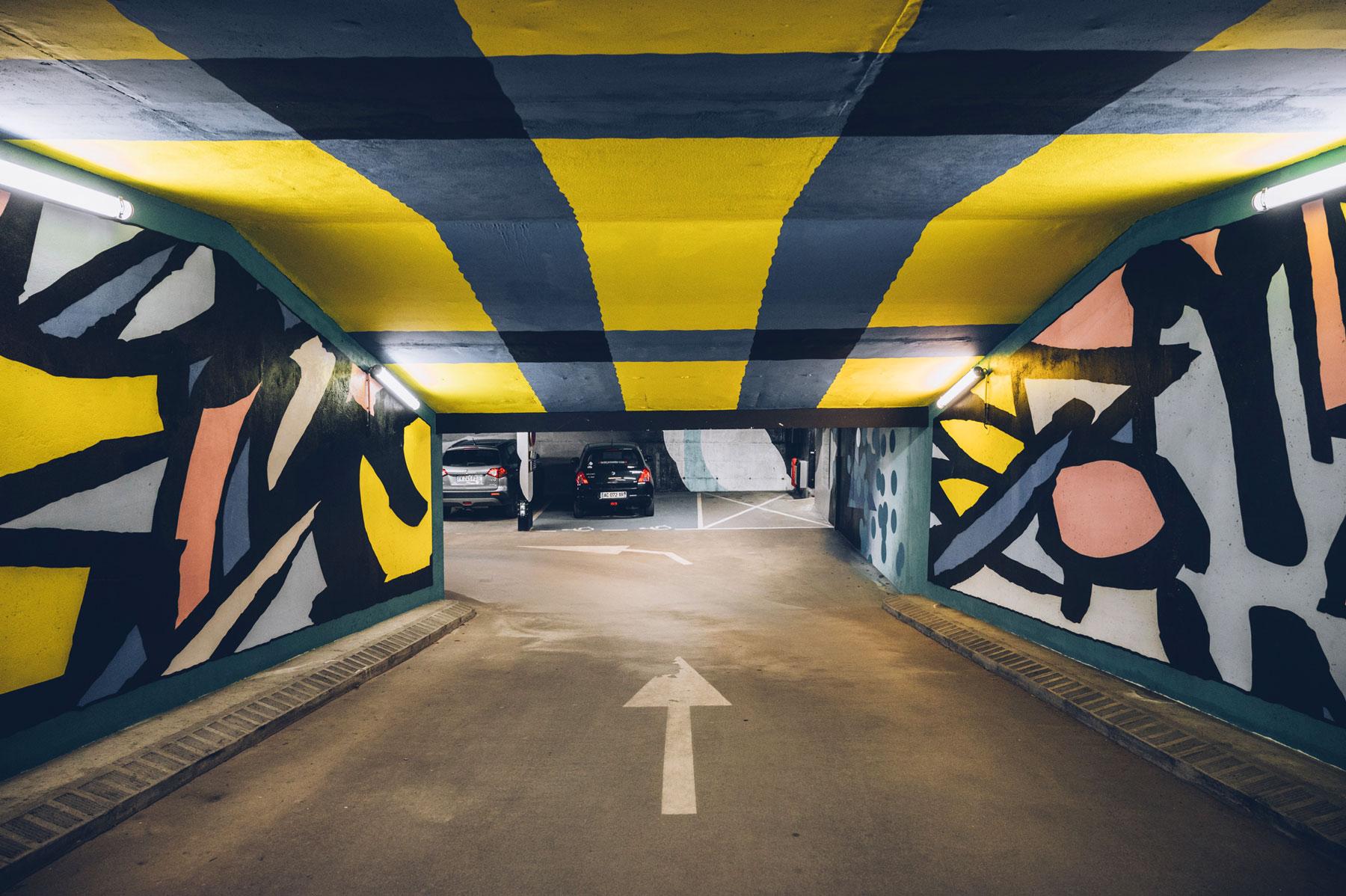 Parking Street Art St Gervais