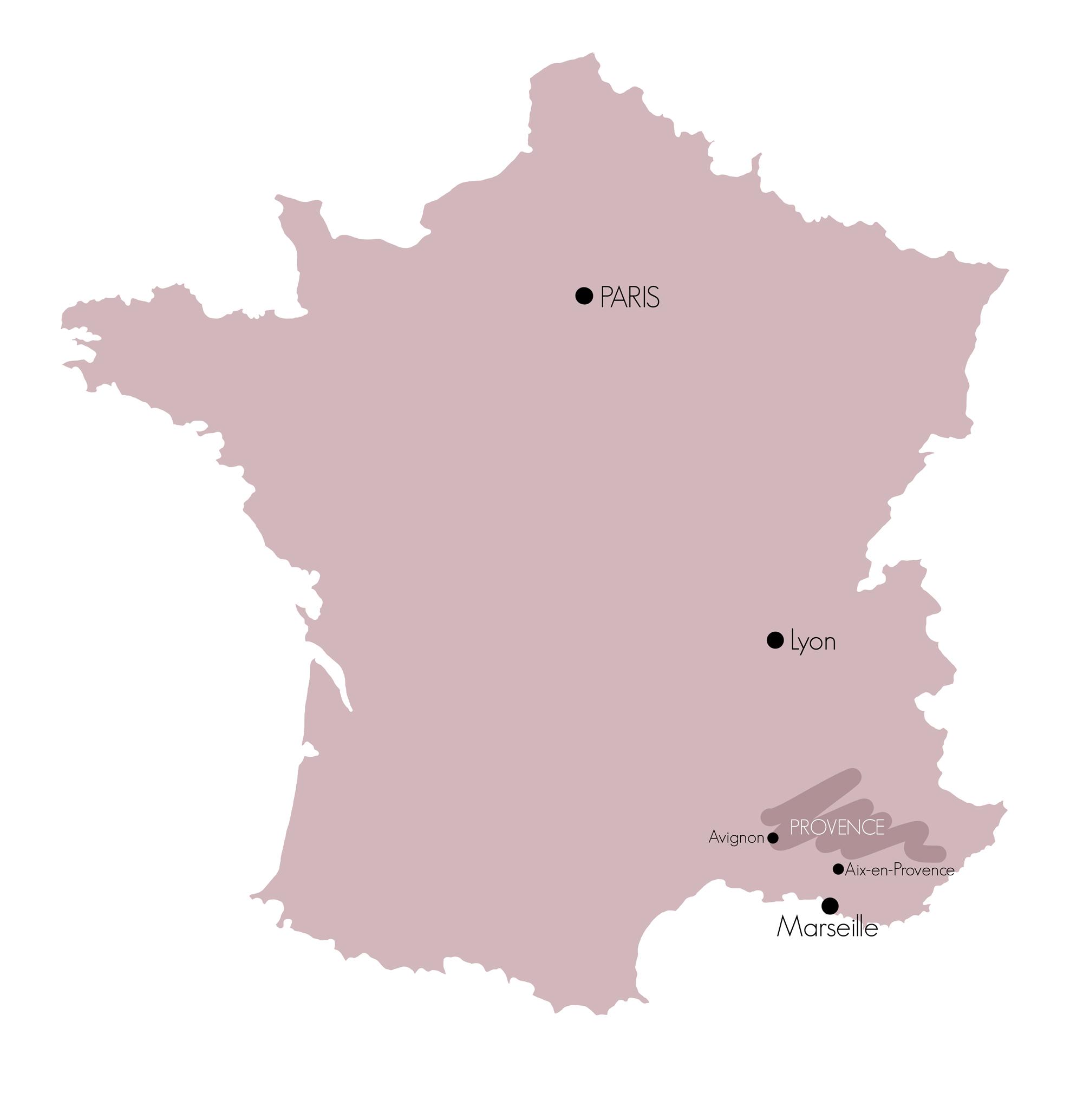 La Provence en France