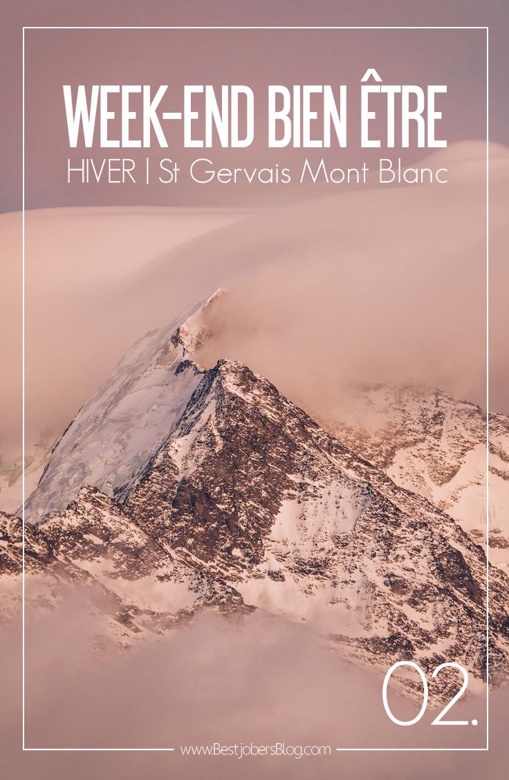 Week-End Bien être à St Gervais Mont Blanc