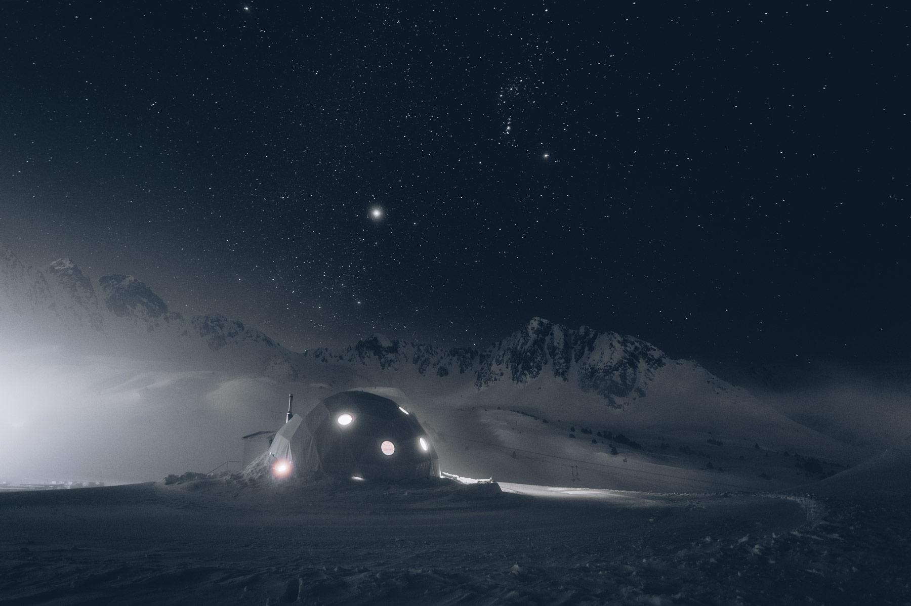 Nuit insolite Andorre, Domo Lodge