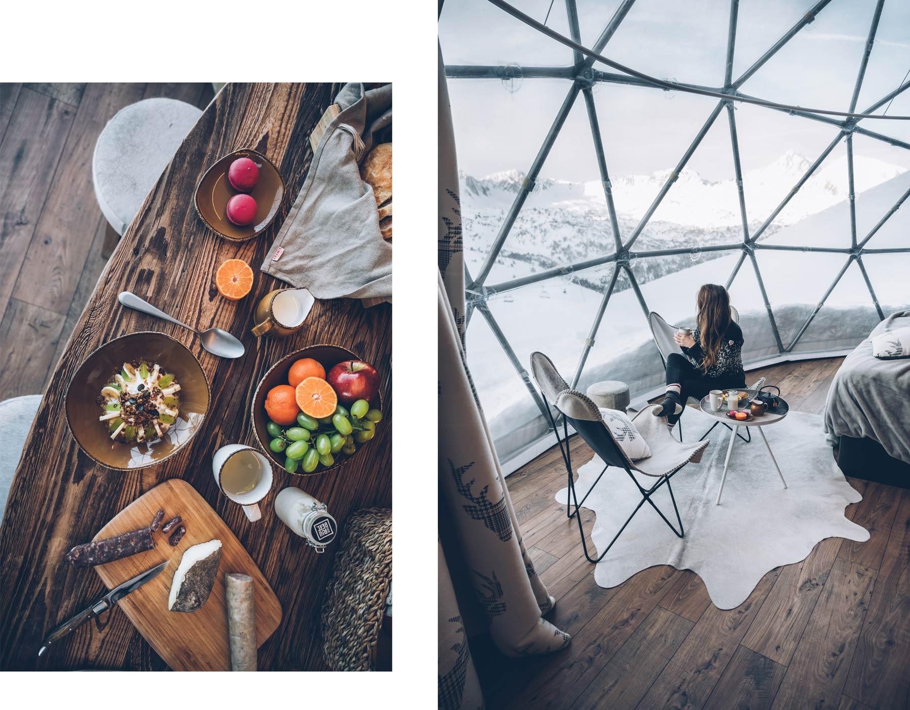 Dormir dans une bulle, Andorre