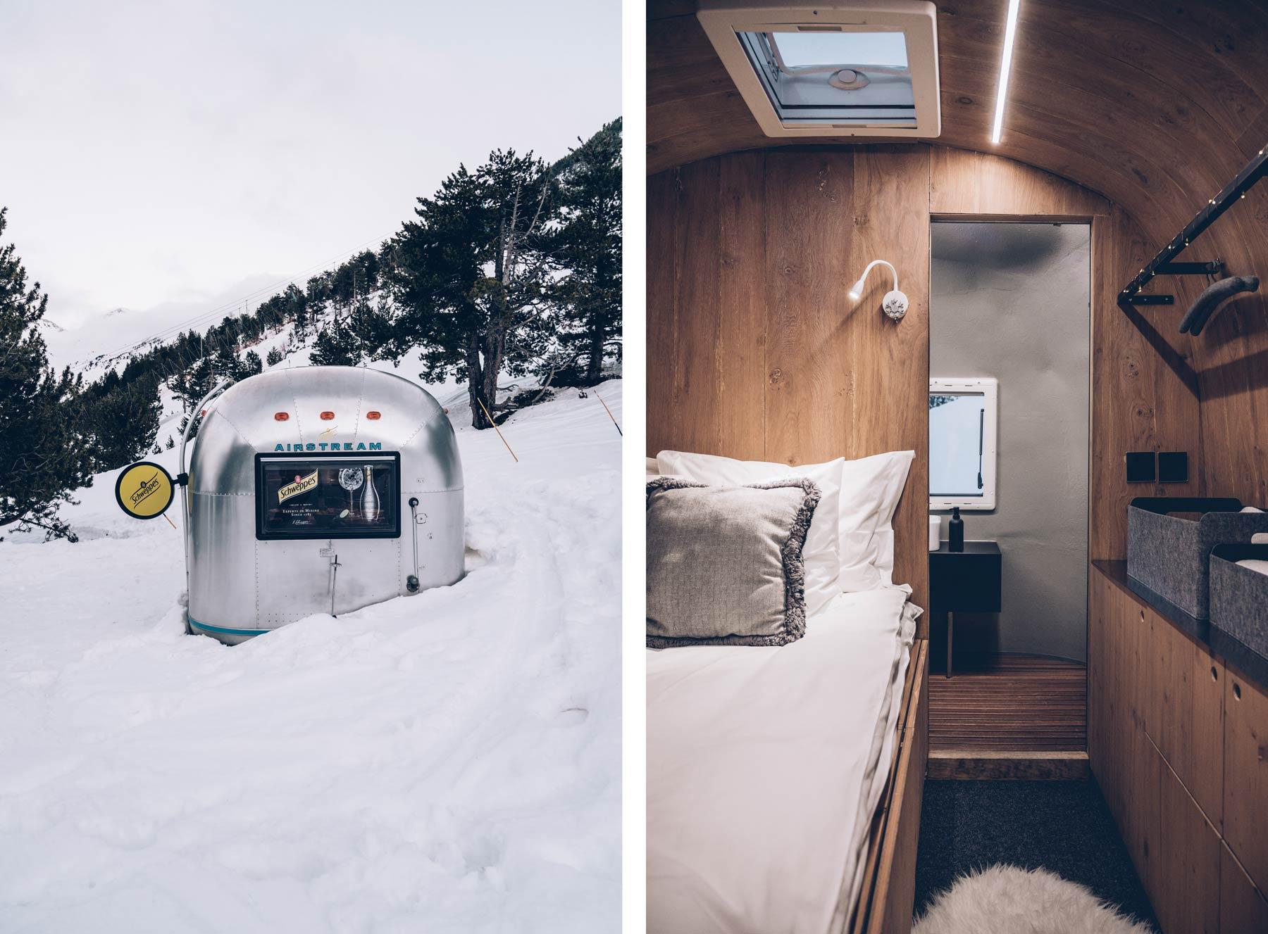 Dormir dans une Airstream à Andorre