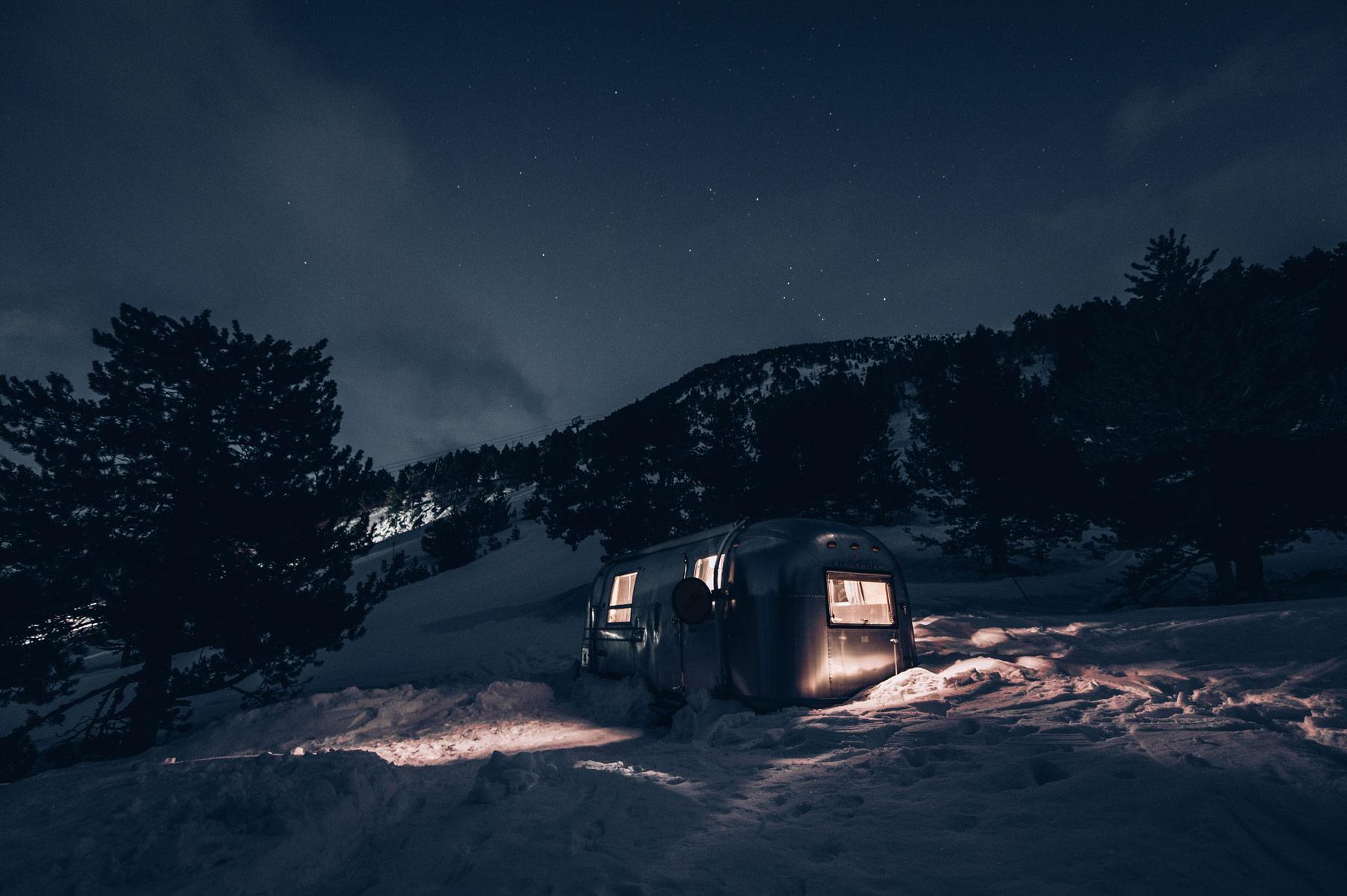 Nuit insolite Andorre: Airstream Ordino Arcalis