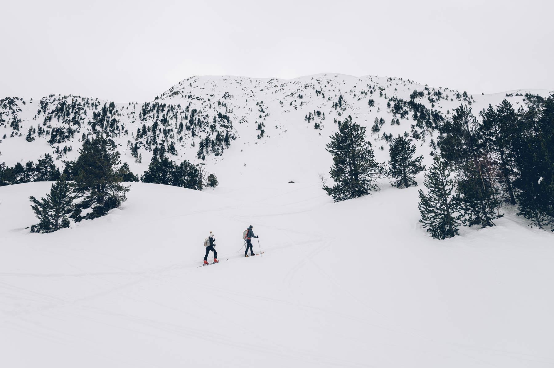 Ski de Rando, Sorteny