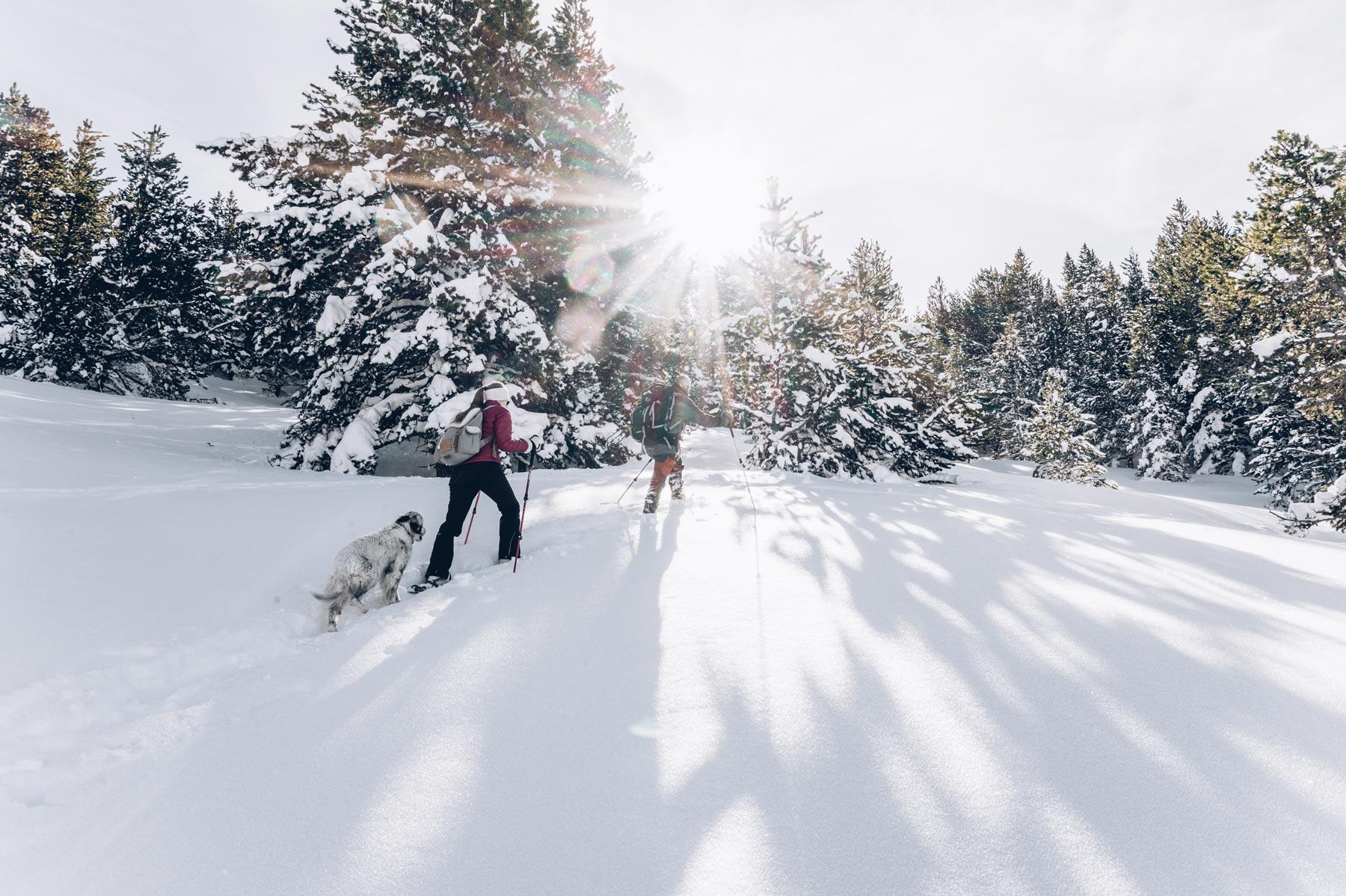 Sortie Raquettes, Andorre