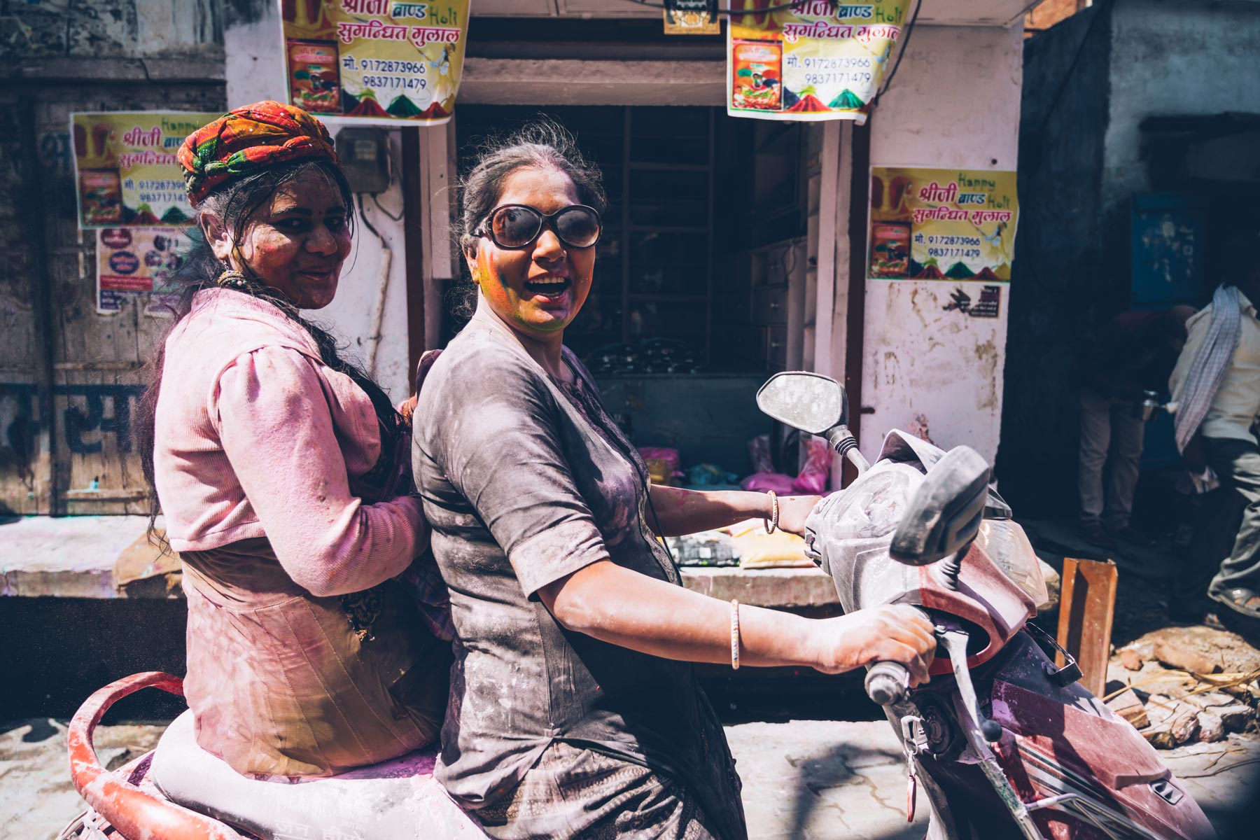 Holi en Inde, Vrindavan