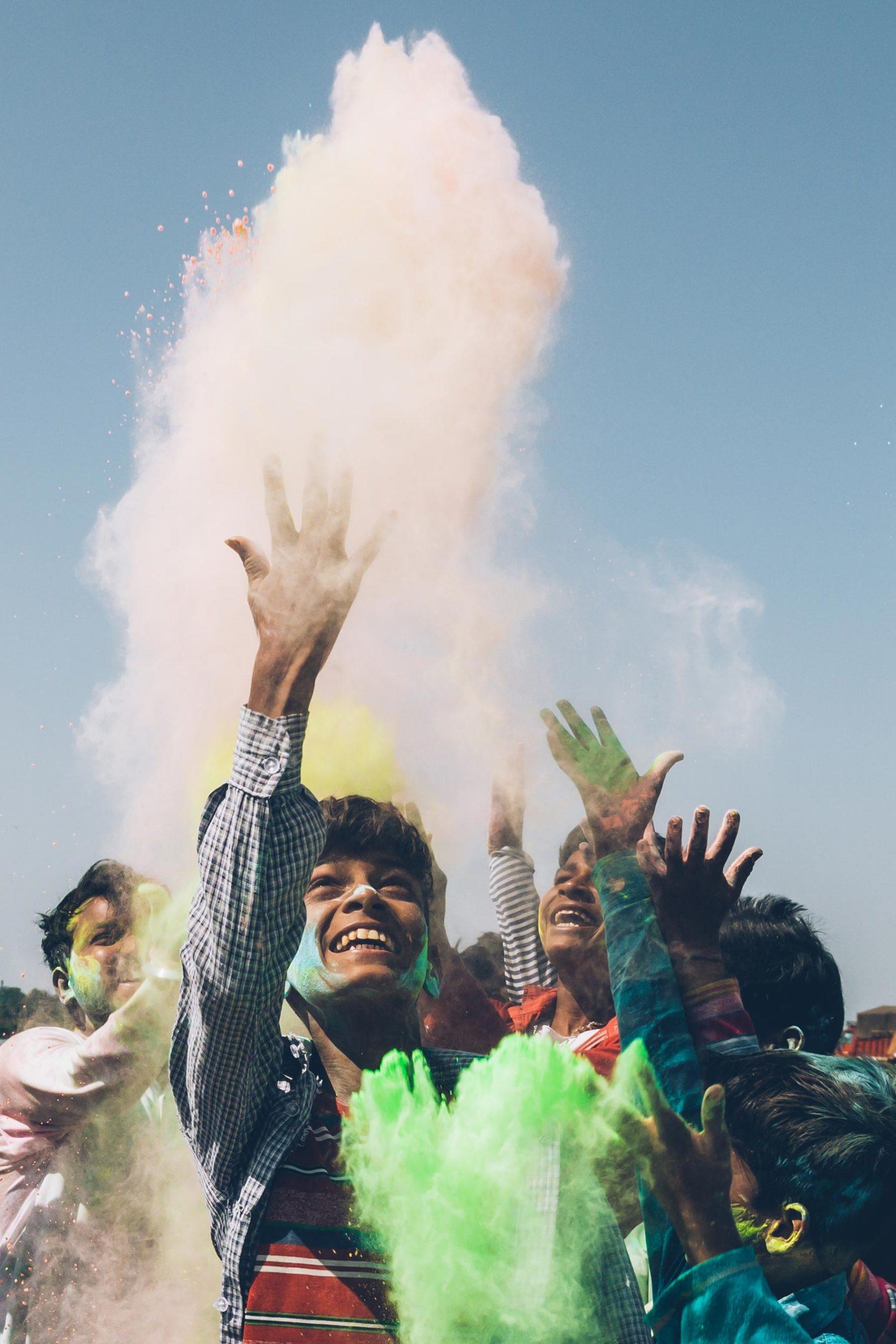Festival Holi, Inde