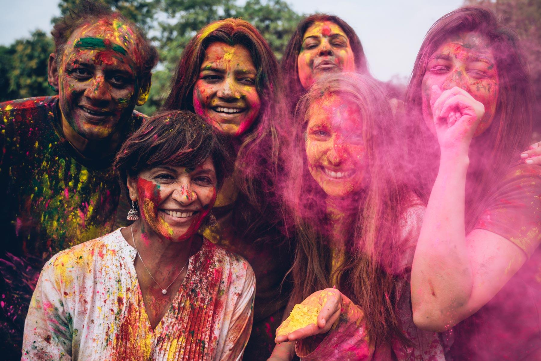 Ou fêter Holi en Inde?