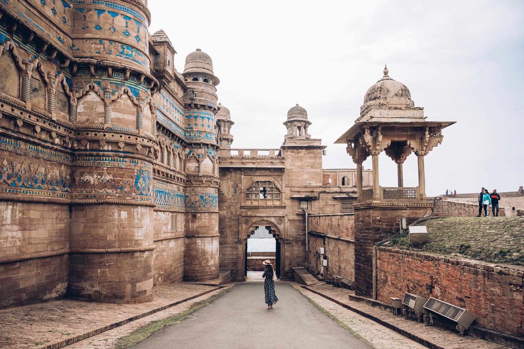 Fort de Gwalior, Madhya Pradesh, Inde