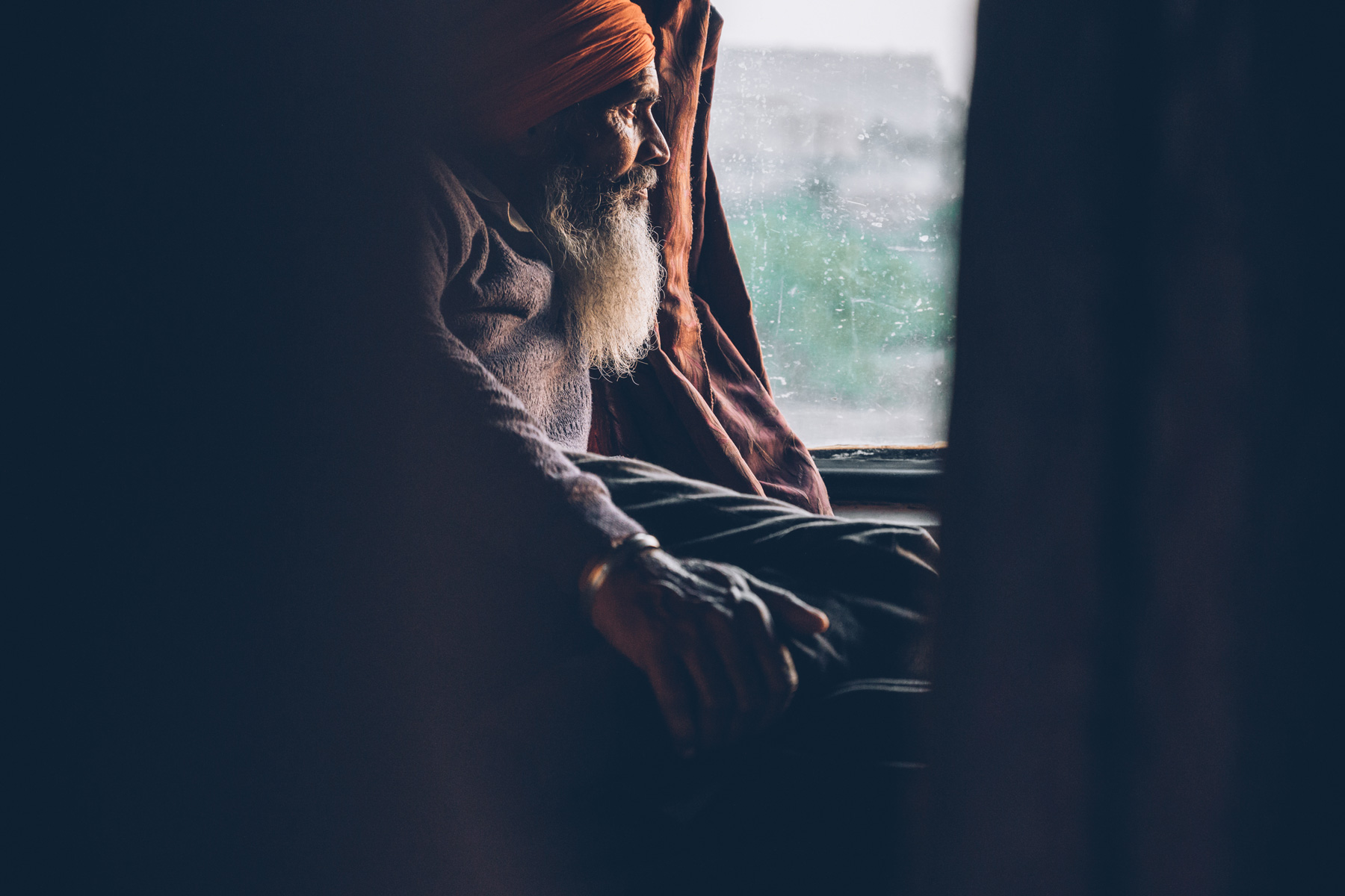 Portrait de Train, Inde