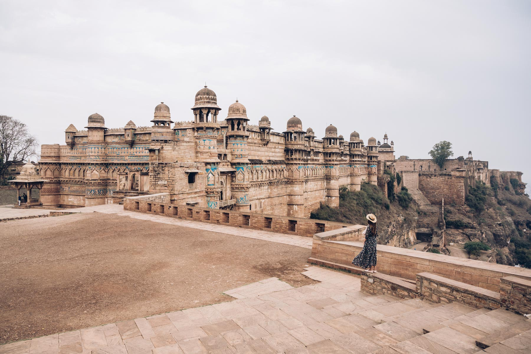 Le Fort de Gwalior, Inde