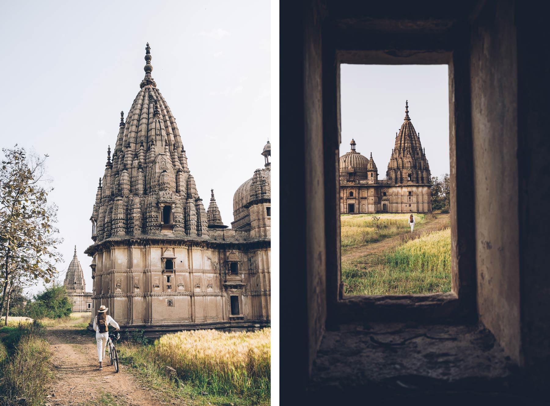 Les Temples d'Orchha, Inde