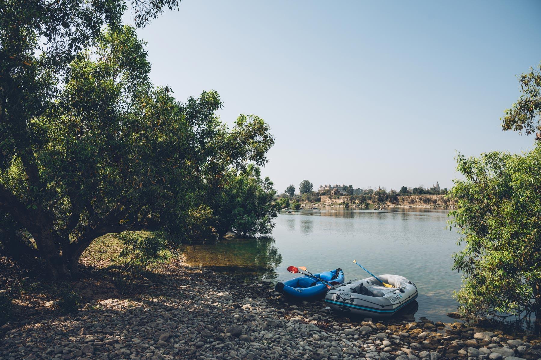 Rafting en Inde, Orchha
