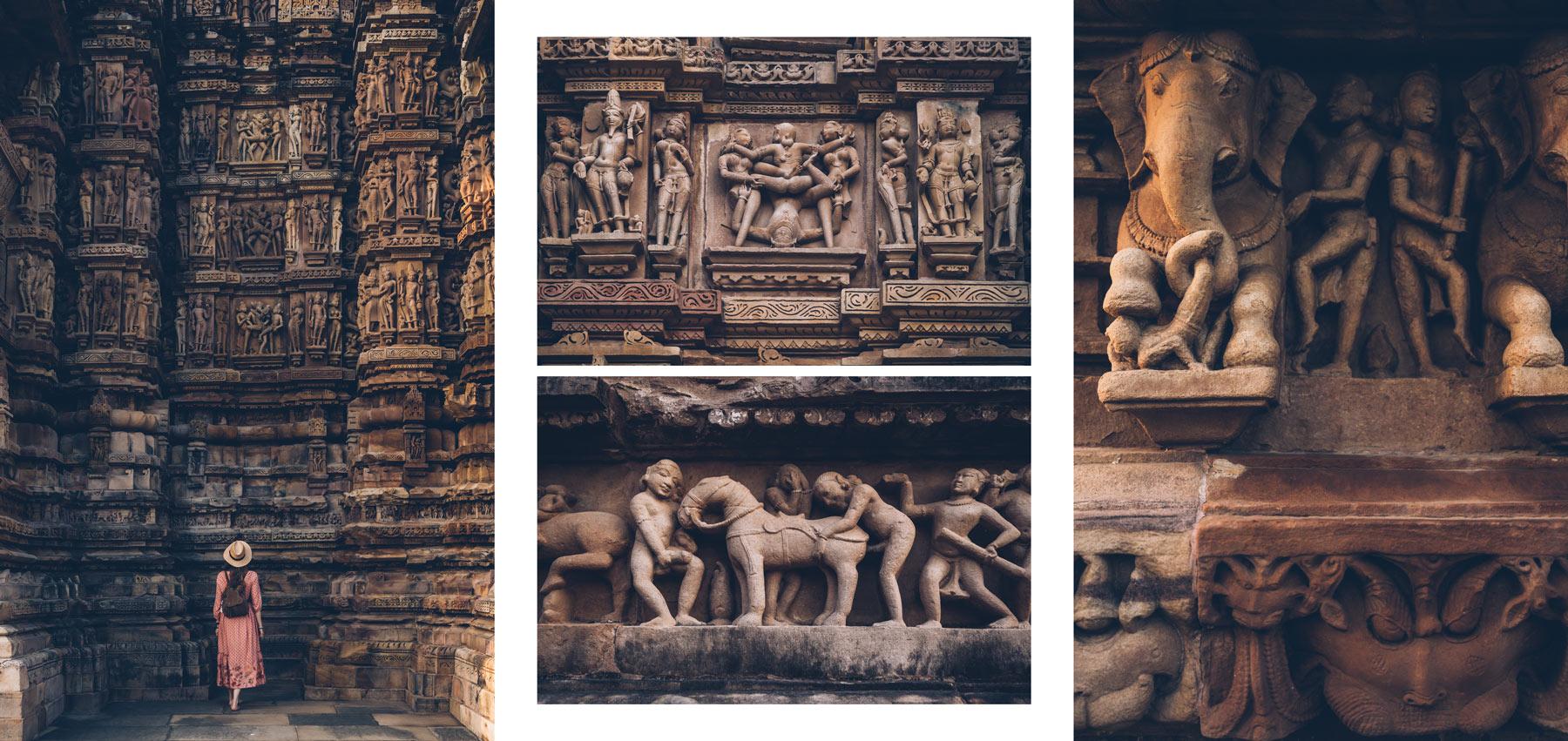 Temples de Khajuraho, Kamasutra, Inde
