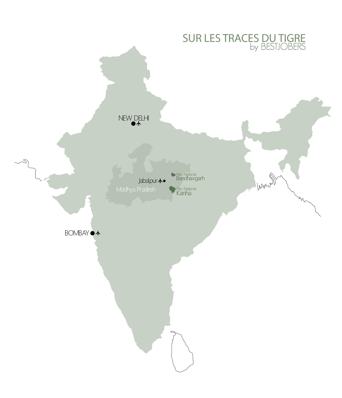 Parcs Nationaux pour voir les Tigres en Inde, Bestjobers