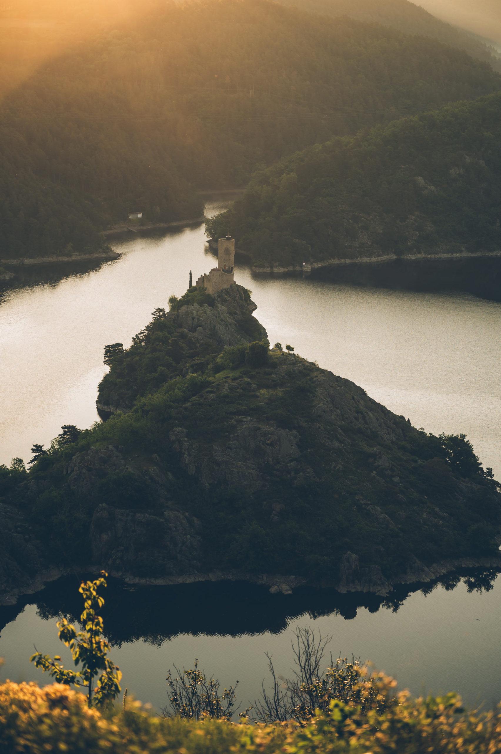 Lac de Grangent depuis Essalois
