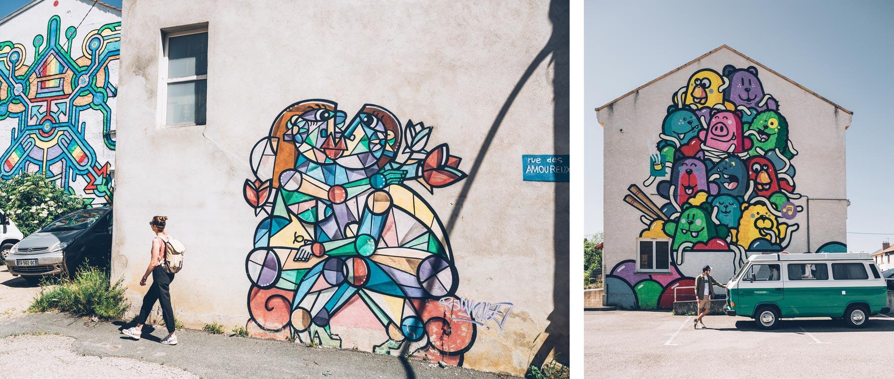 Street Art dans la Loire