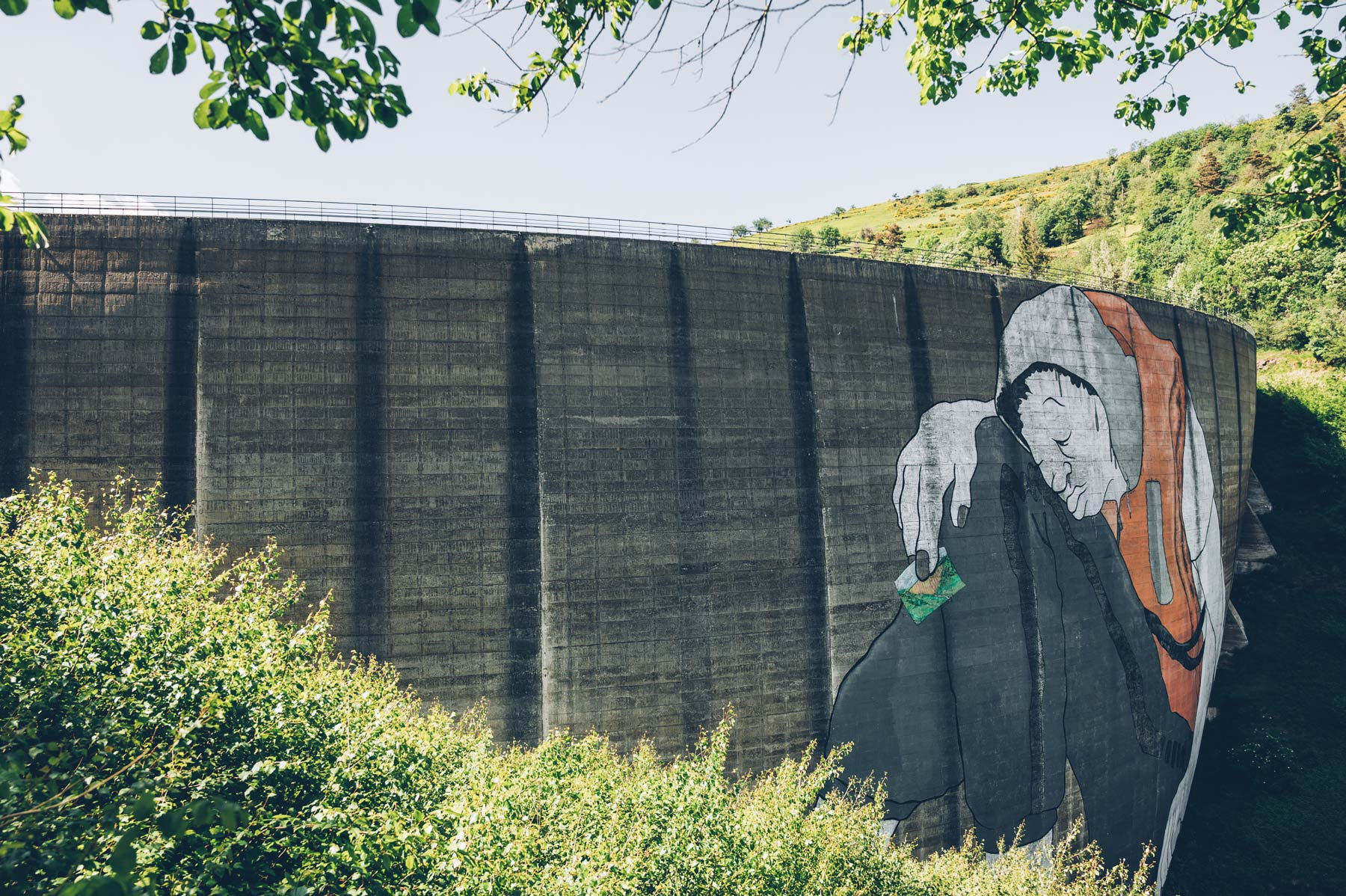 Barrage du Piney, Street Art