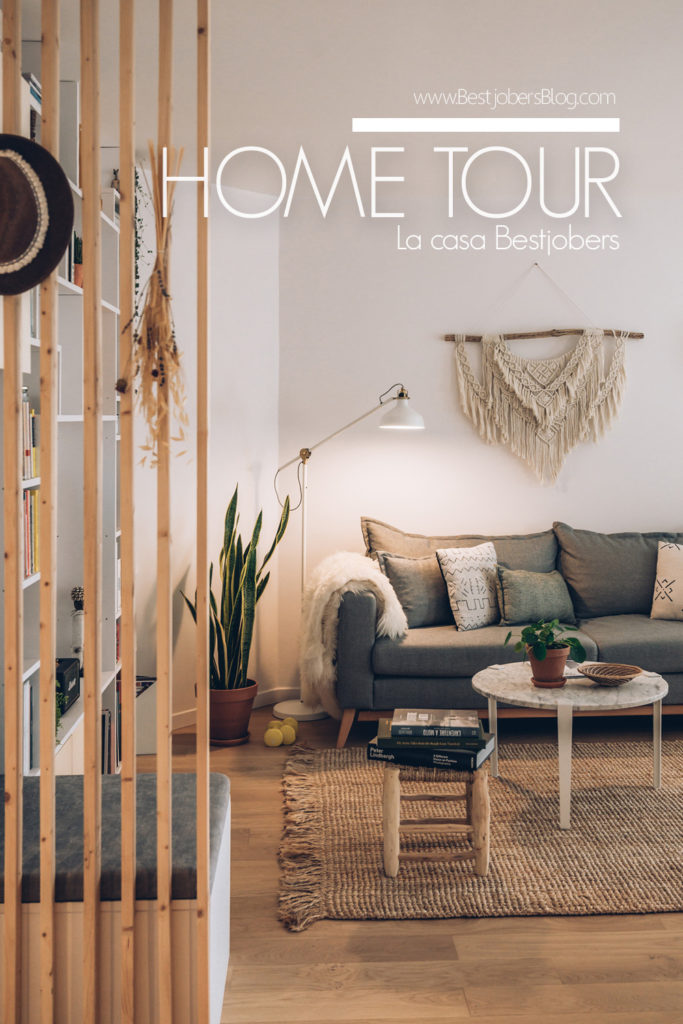 Home Tour Bestjobers, Salon ambiance scandinave