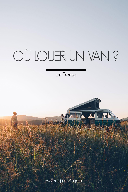 Où louer un van en France?