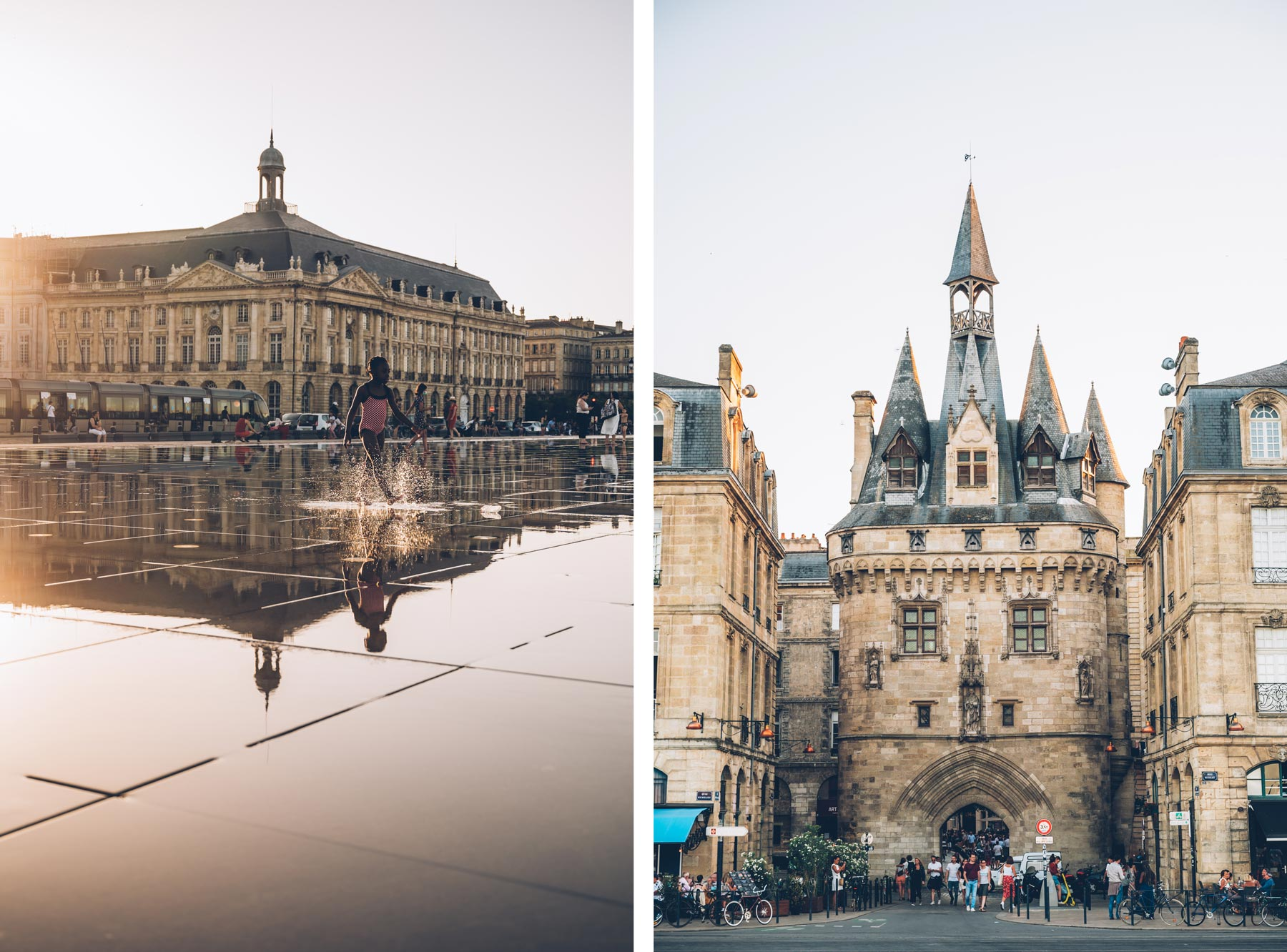 Bordeaux, Miroir d'eau