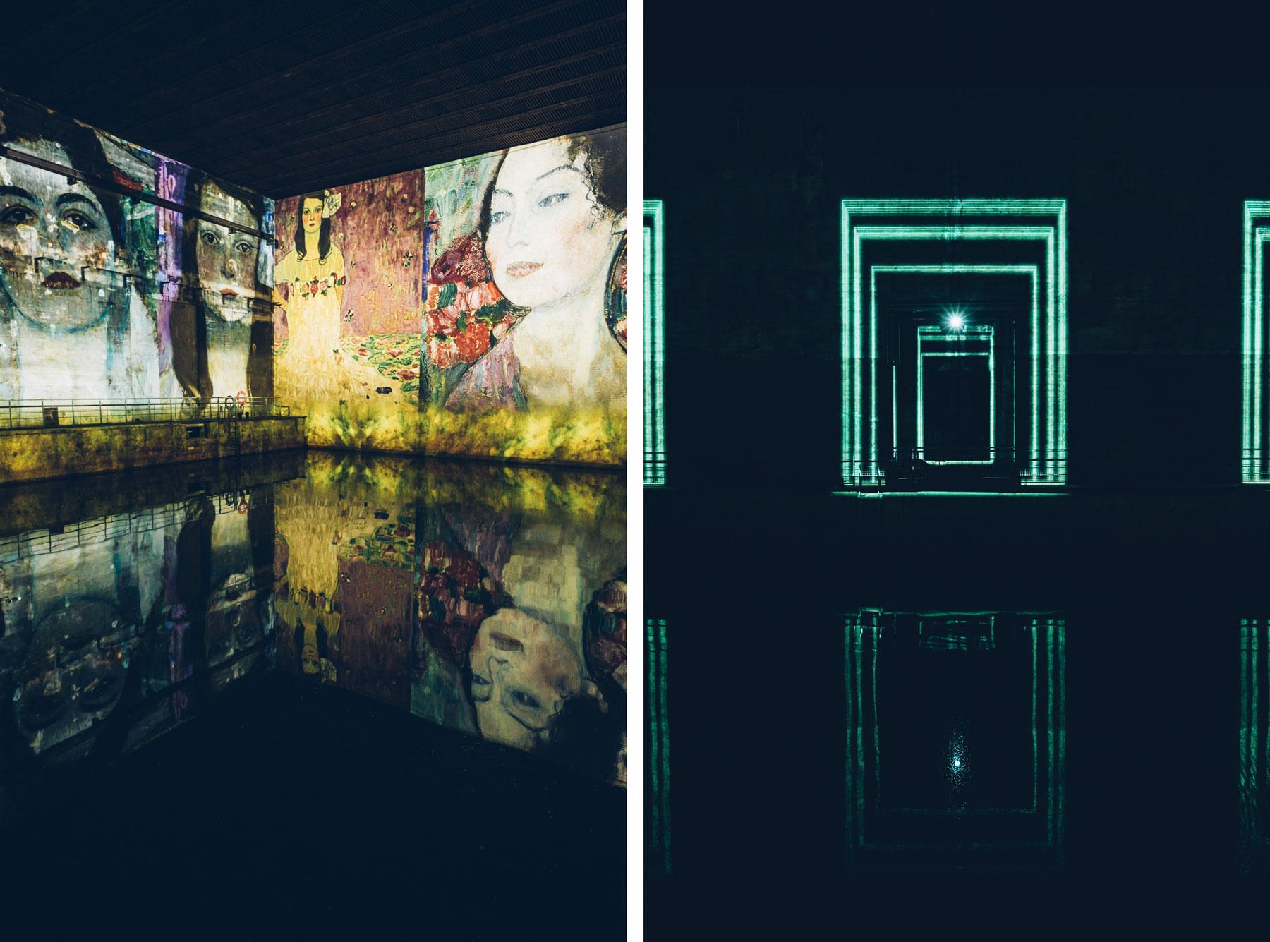 Bordeaux Insolite, Les Bassins de lumières