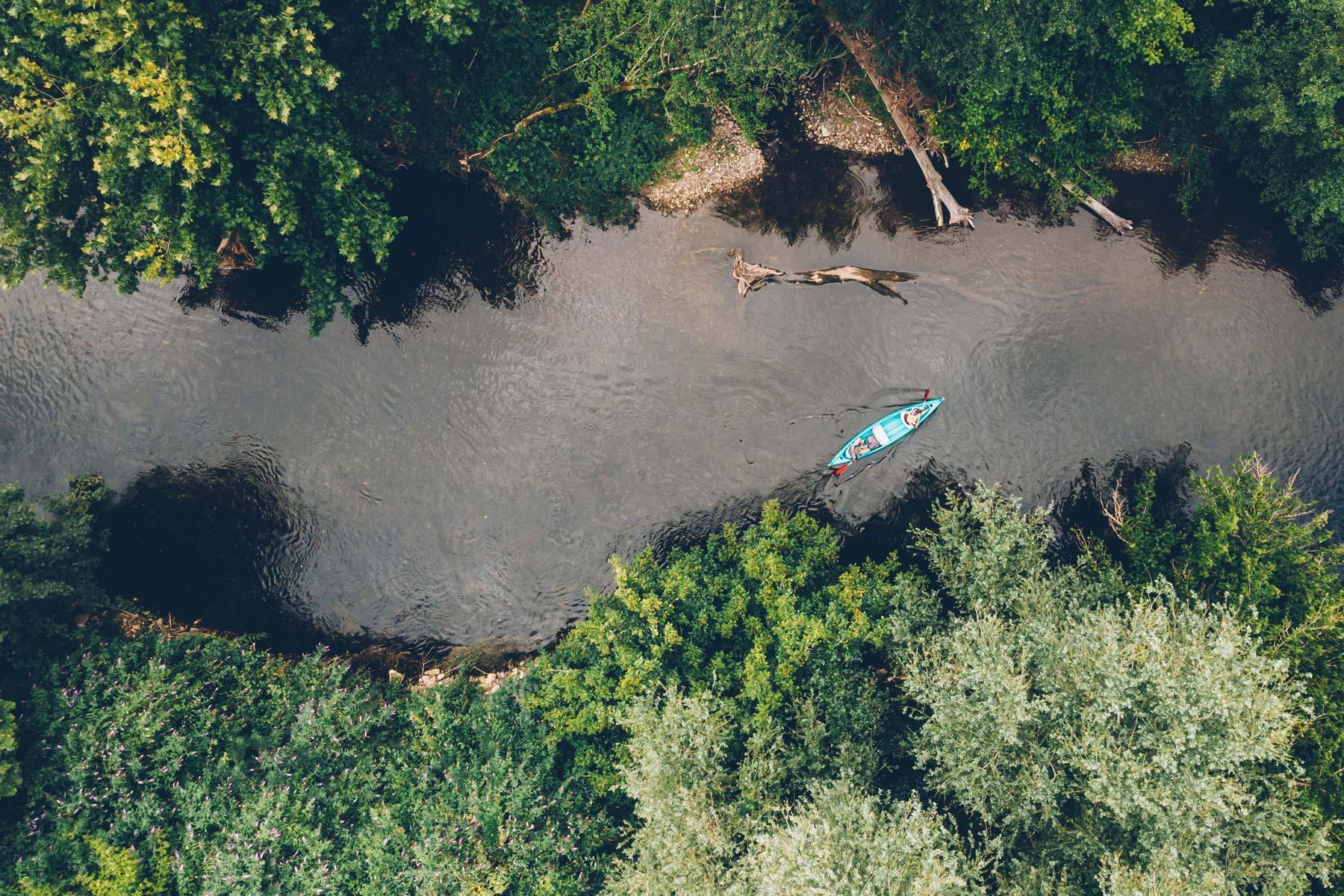 Descente de la Dordogne en canoe