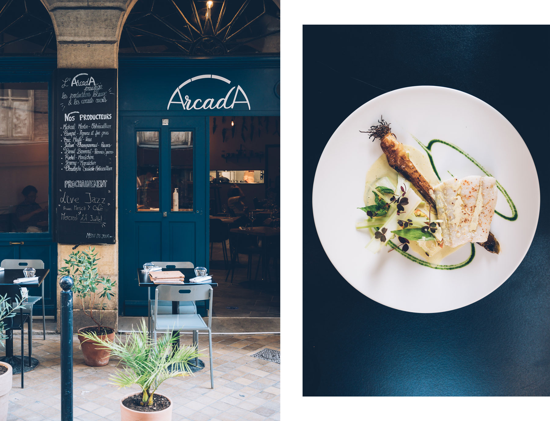 Arcada, Resto Bordeaux