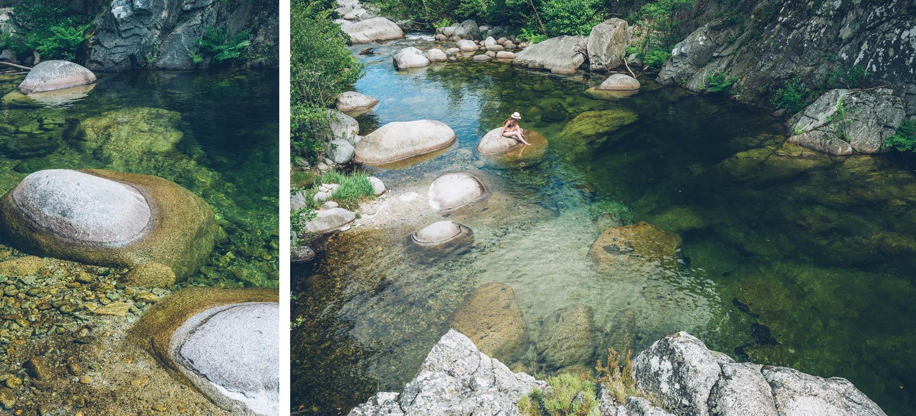 Rivière hors sentiers battus en Corse